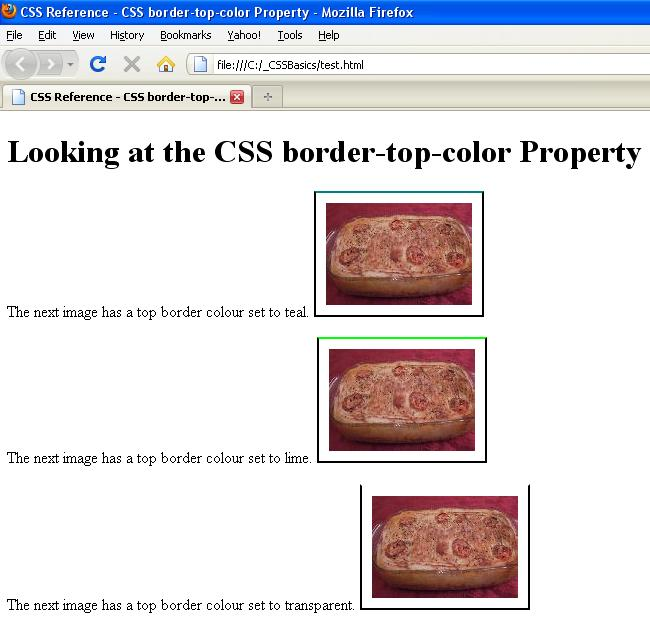 Css border border top color css property - Html table cell properties ...